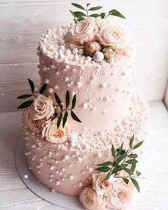 32 Jaw-Dropping Pretty Wedding Cake Ideas Blush Pink Two Tier Wedding Cake . - 32 jaw-dropping pretty wedding cake ideas blush pink two tier wedding cake mi cake decorating - Pretty Wedding Cakes, Wedding Cake Rustic, Elegant Wedding Cakes, Wedding Cake Designs, Pretty Cakes, Beautiful Cakes, Pink Wedding Cakes, Wedding Cake White, Wedding Cake Cupcakes