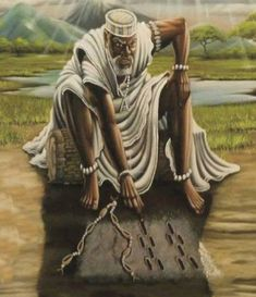 Ifa The true Religion of Yorubas.Sixteen is the number of cosmos.