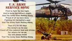 U.S. Army Service Song. USAA military honor birthday celebration