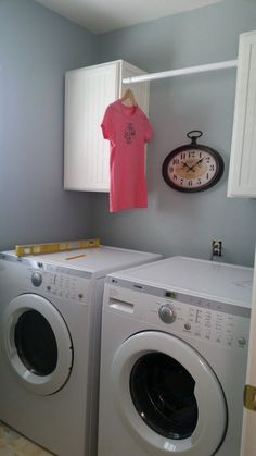 This Will Add More Space to Your Tight Laundry Room