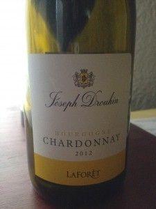 Joseph Drouhin LaForet Chardonnay is Wine of the Week for January 9, 2014 on www.eatsomethingsexy.com