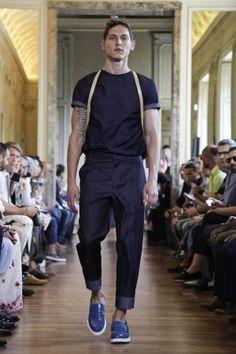 Andrea Incontri Spring Summer Menswear 2014 Milan