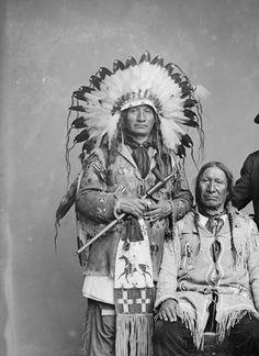 Red Hawk and American Horse - Oglala Lakota Native American Pictures, Native American Regalia, Native American Beauty, Native American History, American Indians, American Art, American Clothing, American Life, Navajo