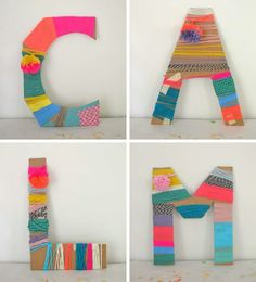 Cardboard letters wrapped with yarn made by kids. Cardboard letters wrapped with yarn made by kids. Cardboard letters wrapped with yarn made by kids. The post Cardboard letters wrapped with yarn made by kids. appeared first on Craft for Boys. Kids Crafts, Projects For Kids, Diy For Kids, Arts And Crafts For Kids For Summer, Yarn Crafts For Kids, Recycled Art Projects, Hand Crafts, Party Crafts, Yarn Projects
