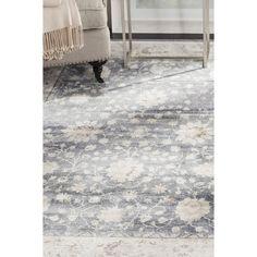 Safavieh Vintage Dark Grey/ Cream Rug (8' x 10') - 17689429 - Overstock - Great Deals on Safavieh 7x9 - 10x14 Rugs - Mobile