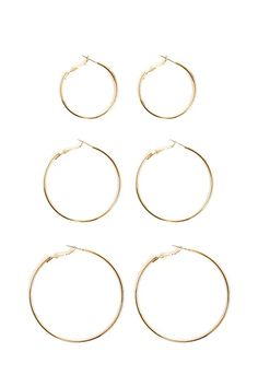 Product Name:Hoop Earring Set, Category:ACC, Price:4.9