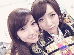Oshima Yuko (AKB48 Team K) & Takahashi Minami (AKB48 Team A)