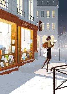 Librairie | by Matthieu Forichon | Couverture du magazine LIRE (décembre 12/janvier 13)