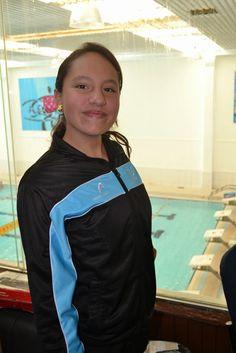 Verónica Hernández Arana, una promesa de la natación de la Acuática Nelsón Vargas ~ Ags Sports