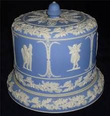 Wedgewood Jasperware. ~  Large Victorian Cheese Dome.
