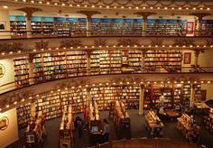 The coolest bookstore!!! Buenos Aires. Argentina