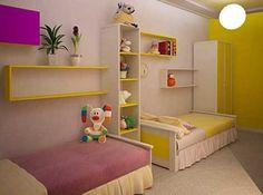 Revista Imóveis» Agrade meninos e meninas com decoração unissex no quarto