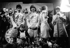 Paul McCartney, John Lennon, George Harrison, Ringo Starr, and The Beatles in The Beatles: Eight Days a Week - The Touring Years Ringo Starr, George Harrison, Paul Mccartney, John Lennon, Stan Laurel, Tony Curtis, Fred Astaire, Ray Charles, Marlon Brando