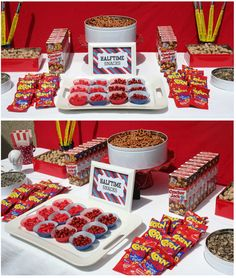 Lots of ideas for a sports-themed birthday bash!