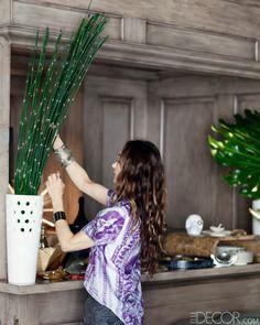 How to Set Up A Home Bar - Kelly Wearstler Home Bar Ideas - ELLE DECOR