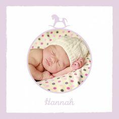 Geburtskarte Pferdchen Foto by Tomoë für Rosemood.de #babykarte #schaukelpferd