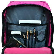 NBA Charlotte HornetsMojo Premium Wheeled Backpack - Pink, Charlotte Hornets