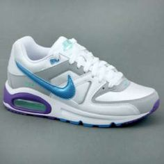 Nike NIKE AIR MAX COMMAND Tg 8,5 (ITA 40) Bianco/Celeste