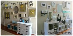 Come check out my different mudroom options! http://www.diylori.com/2014/06/diy-mud-rooms-part-duex.html
