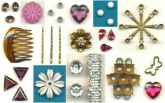 New items have been added to JansJewels.com! Including rhinestone rondelles, Swarovski crystals, vintage brass, and more!