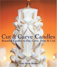 Carved Candles, DIY, Candle Making, Essential Oils, Wax, Gifts