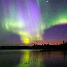 Northern Lights, Northern Alberta