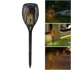 Flame Solar LED Lamp – smileyhomey