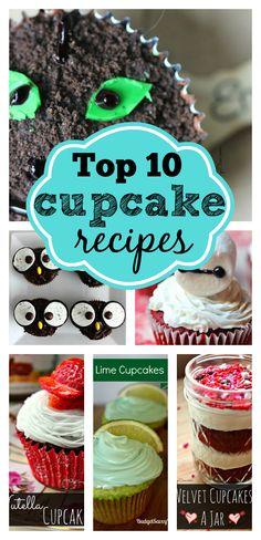 Top 10 Cupcake Recipes!