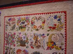 Quilt Vine: WOW quilting and applique