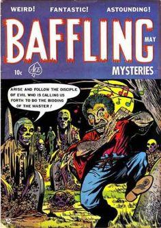BAFFLING MYSTERIES GOLDEN AGE ACE COMICS