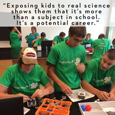 """""""Exposing kids to real science shows them that it's more than a subject in school. It's a potential career.""""     Read how HughesNet is helping 4-H grow future science innovators in this #4HNYSD Partner Spotlight!"""