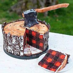 File under: Sexy Lumberjack Cake ✨