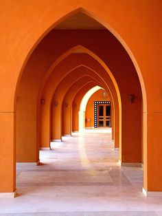 Orange Inspiration and Color Theory - The English Room - Musings of a Design Aficionado Architecture Design, Islamic Architecture, Orange Architecture, Gothic Architecture, Orange Aesthetic, Aesthetic Colors, Culture Art, Orange Wallpaper, Orange Walls