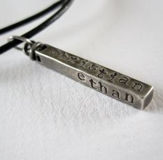 Fathers Day Gift  Personalized Dad  Rustic by PatriciaAnnJewelry, $65.50