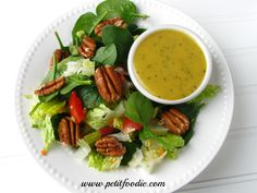 honey mustard poppy seed dressing www.petitfoodie.com