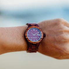 Look at this amazing WOOD shades. It's true, nature never ceases to amaze. www.abaeternowatches.com #woodwatch #shades