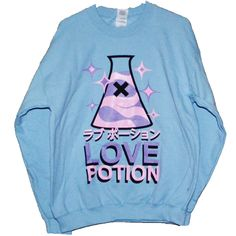 Image of LOVE POTION Sweatshirt - BB BLU