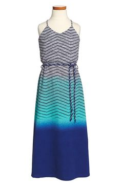W Girl Stripe Ombré Maxi Tank Dress (Big Girls) available at #Nordstrom