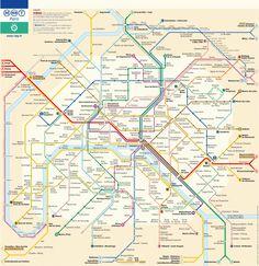 Картинки по запросу париж метро карта