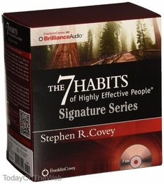 The 7 Habits of Highly Effective People Signature Series CD Stephen R. Covey 1511335556 | eBay
