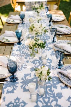 Summer inspired tablescape: http://www.stylemepretty.com/vault/search/images/Parties