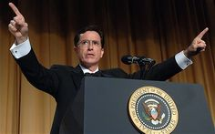 #Colbert raised $1million with Super PAC. Would YOU #vote for Stephen Colbert?