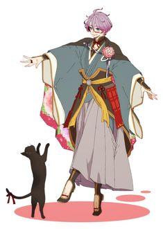 【刀剣乱舞】猫と戯れる歌仙さん【とある審神者】 : とうらぶ速報~刀剣乱舞まとめブログ~