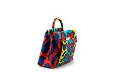 Azzurra Gronchi spring/summer bags collection, mini India pixel back
