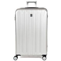 Karabar Extra Large 28 Inch Hard Sided Suitcase Silver
