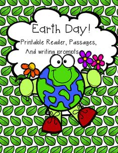 Earth Day. Earth Day Printable Reader in 3 different Lexile Levels. Two Earth Day Reading Passages with 3 questions each and an Earth Day Journal with covers and writing prompts.This product contains 3 printable readers. The content is the same, but the reading levels are different.