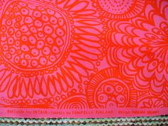 Vintage Tampella Fabric by Katinkontti, via Flickr