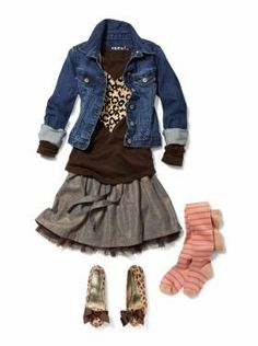 Back to School Outfits Kids Clothing: Girls Clothing: New: Bryant Park Little Girl Outfits, Cute Outfits For Kids, Little Girl Fashion, Back To School Outfits For Kids, School Kids, Little Fashionista, Tween Fashion, School Fashion, Girls Fashion Kids