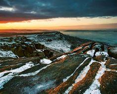 Curbar January morning...mamiya rz67pro sekor50mm, ektar 100 film