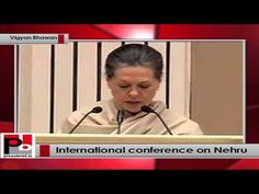 """Secularism is a compelling necessity for a country as diverse as India"" said Congress president Sonia Gandhi while addressing an international conference organised on the occasion to commemorate 125th birth anniversary of India's first Prime Minister Pt. Jawaharlal Nehru at Delhi's Vigyan bhawan on Monday. In 1947, India was a new born state, in turmoil after partition. Pandit Nehru brought stability and hope. His ultimate objective was not merely India's freedom but human freedom."